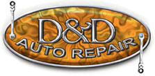 D and D Automotive logo